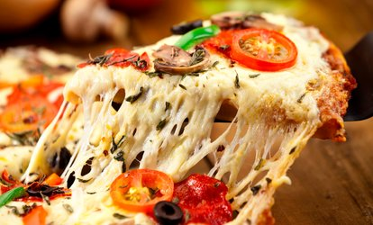 image for One Medium or Large One-Topping Pizza and One Medium Appetizer at Fio's Express (Up to 47% Off)