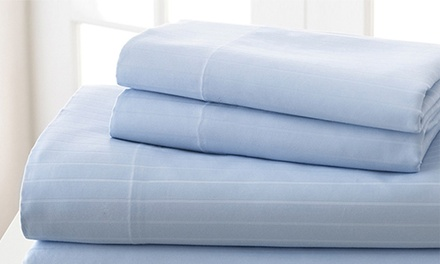 Season's Collection 1,000-Thread-Count Pima Cotton Sheet Set