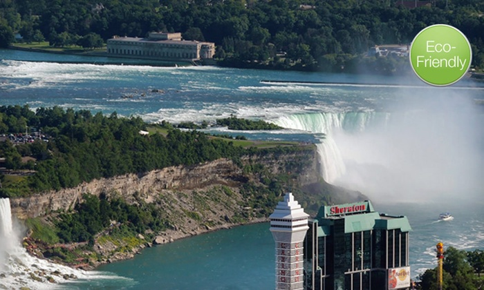 Sheraton On The Falls - Niagara Falls, Ontario: One-Night Stay with Wine-Tour Passes and Dining Credit at Sheraton On The Falls in Niagara Falls, ON