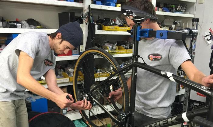 Velo Reno Bike Shop - Velo Reno: Basic or Deluxe Bike Tune-Up at Velo Reno Bike Shop (Up to 51% Off)