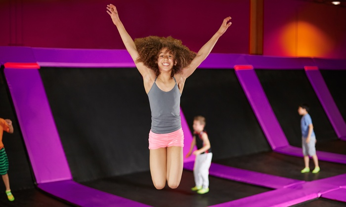 Jumpoline Family Fun Center - Mission Viejo: Two Hours of Trampoline Jump Time for One or Two at Jumpoline Family Fun Center (Up to 44%Off)