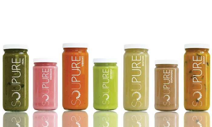 Soupure - Orange County: One- or Three-Day Soup Cleanses from Soupure (Up to 25% Off). Five Options Available.