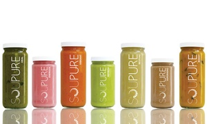 Soupure: One- or Three-Day Soup Cleanses from Soupure (Up to 25% Off). Five Options Available.