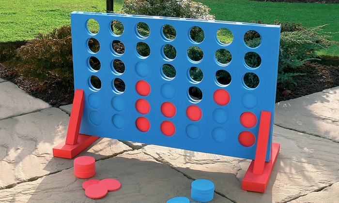 Range of Jumbo-Sized Family Garden Games for £6.98