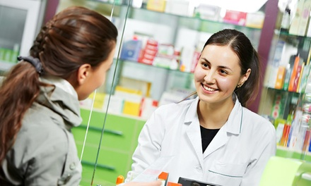 Merchandise, Medical Supplies, and Over-the-Counter Items at Monroe Pharmacy (50% Off). Two Options Available.