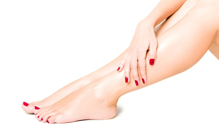 Happy Day Spa - Norfolk: Mani-Pedi with Paraffin Treatment or Shellac Mani with Regular Pedi and Paraffin at Happy Day Spa (50% Off)