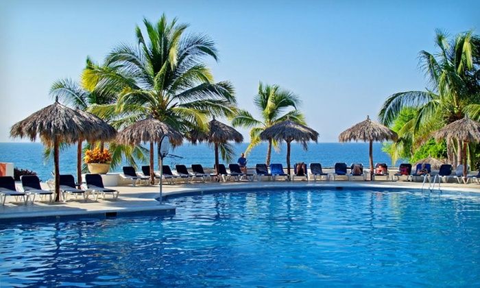 All-Inclusive Puerto Vallarta Vacation with Airfare from Vacation Express - Greeley: 4-Night All-Inclusive Stay at Grand Palladium Vallarta Resort & Spa in Puerto Vallarta with Flight from Vacation Express