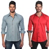 Jared Lang Men's Slim-Fit Button-Down Shirts
