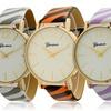 Geneva Women's Striped Watches