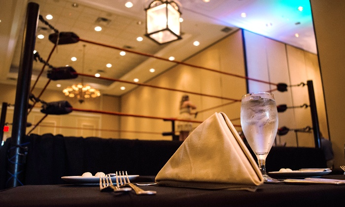 Manor Professional Wrestling Dinner Theater - Osceola Heritage Park Exbihiton Hall: Manor Professional Wrestling Dinner Theater at Osceola Heritage Park on March 14 or April 18 (Up to 56% Off)