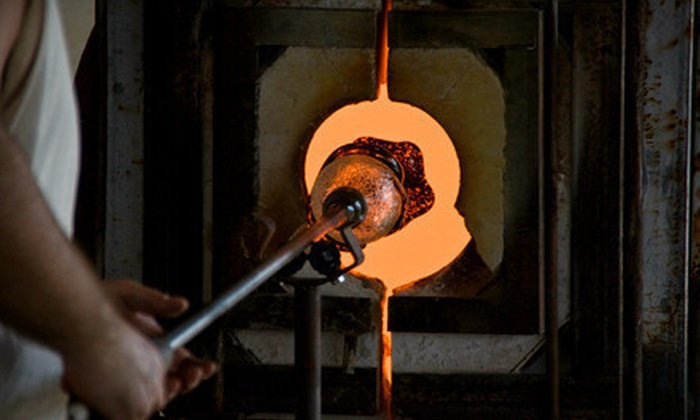Peter Patterson Glassworks - Clearbrook Park: Intro to Glass Blowing Class for One or Two at Peter Patterson Glassworks (Up to 52% Off)