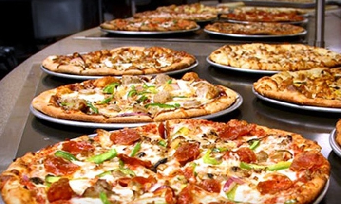 Tazinos Pizza & Salad Bistro - Multiple Locations: $10 for $20 Worth of Self-Serve Italian Fare at Tazinos Pizza & Salad Bistro
