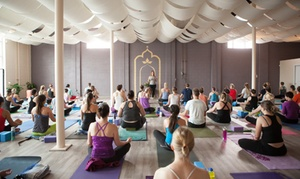 Kindness Yoga: 5 or 10 Yoga Classes at Kindness Yoga (Up to 58% Off)
