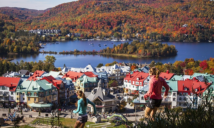 how to get to mt tremblant from montreal