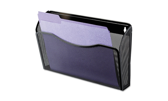Rolodex Wire-Mesh Wall Files: Rolodex Wire-Mesh Wall File with 1- or 3-Pocket Design for $15.49 or $36.99. Free Returns.