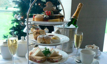 Champagne Afternoon Tea for Two or Four at MPW Steakhouse Bar & Grill Cambridge (47% Off)