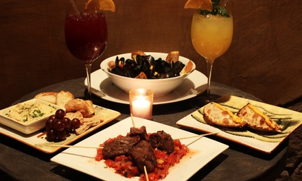Sangria and Tapas for Two or Four at Just Grapes Lounge in Elmwood Park (Up to 48% Off)