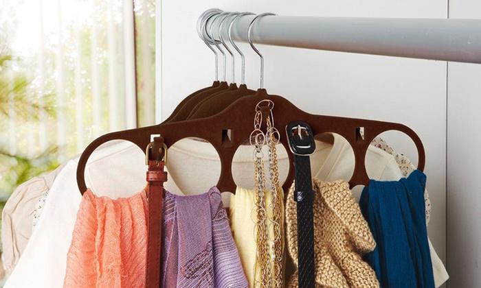 Velvet Hanging Accessory-Organizer 4-Pack: Velvet Hanging Accessory-Organizer 4-Pack. Multiple Colors Available. Free Returns.