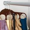 Velvet Hanging Accessory-Organizer 4-Pack