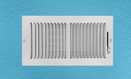 Air-Duct Cleaning for Up to Seven Vents with Complete Furnace Cleaning or Dryer Vent Cleaning (Up to 84% Off)