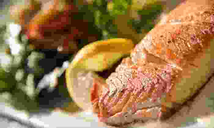 Rhett's River Grill - Charlottesville: Surf and Turf for Two or Four at Rhett's River Grill (Half Off)