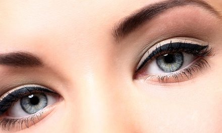 Two Threading Sessions for the Eyebrows, Upper Lip, or Both at The Eyebrow Shapers (50% Off)