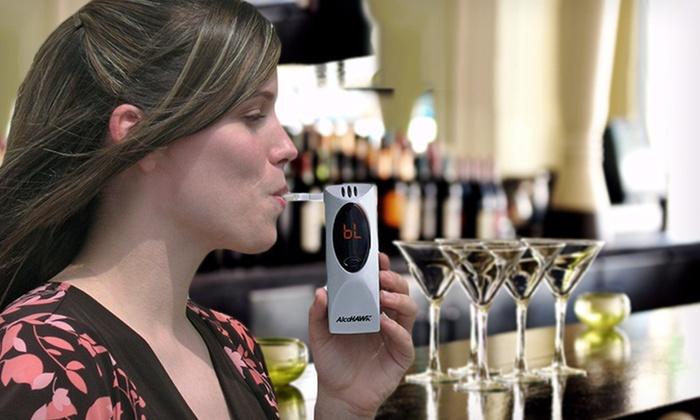 AlcoHawk Slim Digital Breathalyzer: $34.99 for an AlcoHawk Slim Digital Breathalyzer in Silver ($79.99 List Price)