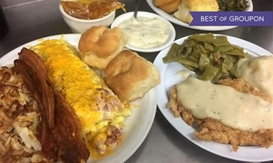 40% Off at Mama's Daughters' Diner at Mama's Daughter's Diner, plus 9.0% Cash Back from Ebates.