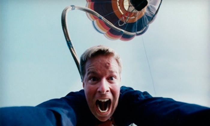 StL Bungy Inc - Kansas City: $125 for a Hot-Air-Balloon Bungee Jump in Kansas from StL Bungy Inc (Up to $250 Value)