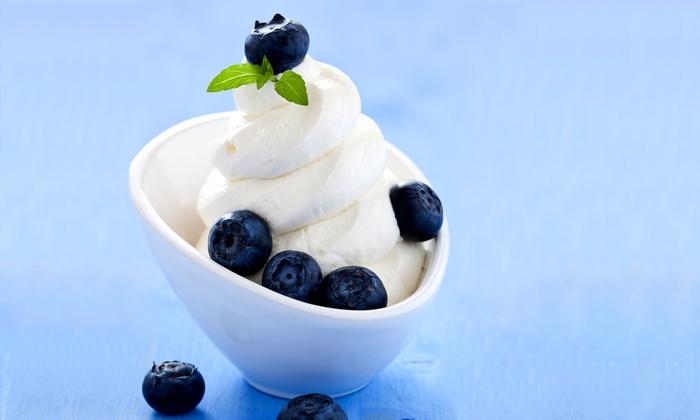 Yo-Go Yogurt - Natomas Market Place: $7 for $14 or $10 for $21 Worth of Self-Serve Frozen Yogurt and Snow Ice at Yo-Go Yogurt