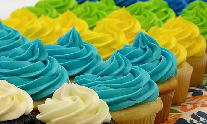 Ohana Cupcakes - Fire Mountain: Create Your Own Cupcakes, Half Dozen Cupcakes, or Birthday Party at Ohana Cupcakes (Up to 50% Off)