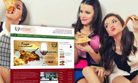Website voor bezorgrestaurants