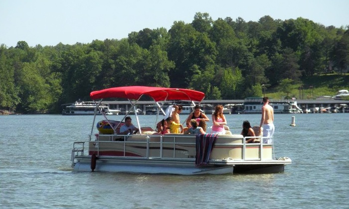Lake Wylie Boat Rental - Dixie - Berryhill: $189 for Full-Day Weekday Pontoon Rental from Lake Wylie Boat Rental ($325 Value)