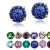Swarovski Elements Birthstone Stud Earrings