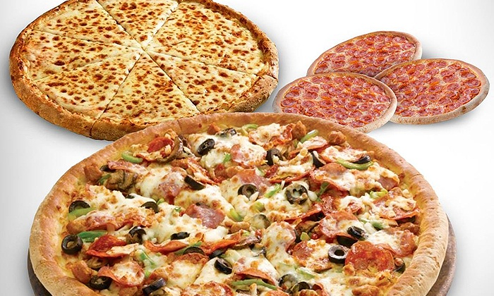 Papa John's - Multiple Locations: Pizza, Breadsticks, and Soda Packages at Papa John's (41% Off). Two Options Available.