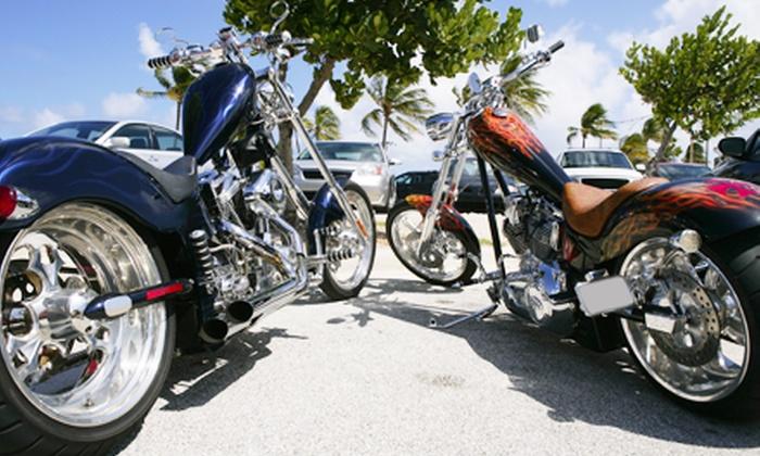 South Beach Bike Week - Flamingo / Lummus: $25 for an All-Access VIP Pass at South Beach Bike Week on August 16–18 ($50 Value)