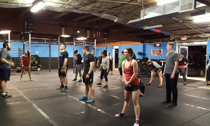 CrossFit Cataclysm - Multiple Locations: Four Weeks of Gym Membership at Crossfit Cataclysm (34% Off)