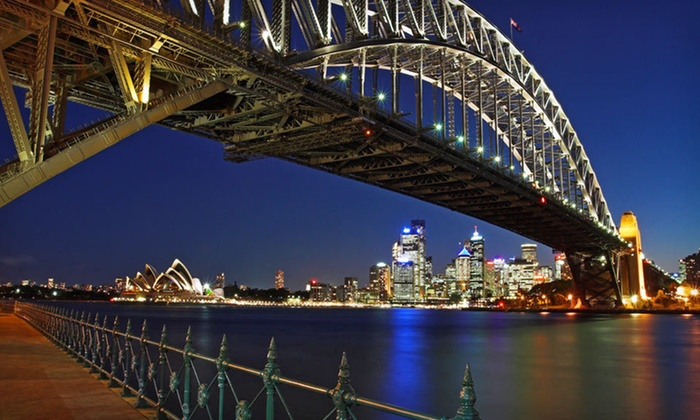 12-Day Australia Trip with Airfare  - Miami: 12-Day Australia Trip with Airfare and 5-Star Hotel Stays from Down Under Answers, L.L.C. 36 Departure Cities Available.