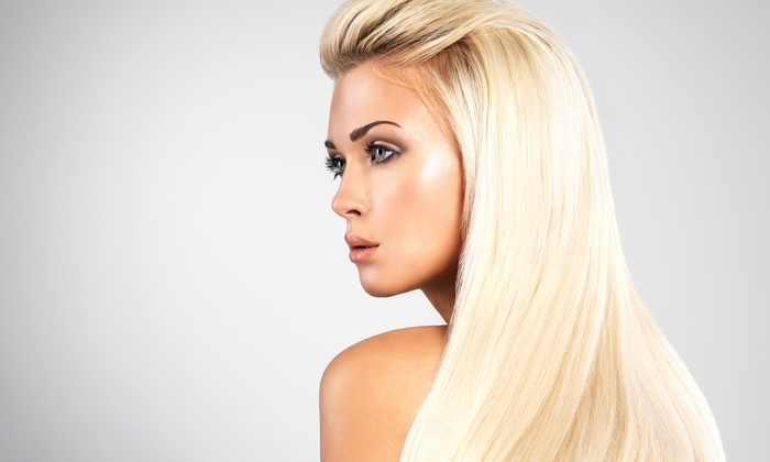 DK Hair Designs - Dumont: Haircut Packages or Keratin Treatment at DK Hair Designs (Up to 57% Off). Four Options Available.