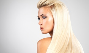 DK Hair Designs: Haircut Packages or Keratin Treatment at DK Hair Designs (Up to 57% Off). Four Options Available.