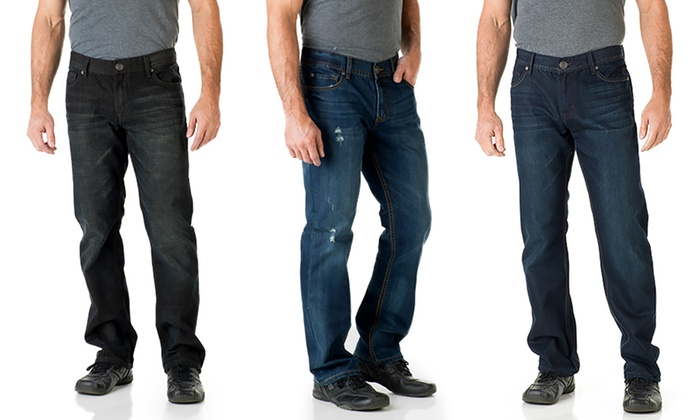 Bootcut or straight leg jeans