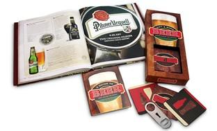 Beer Books and Bottle Opener Set (3-Piece)