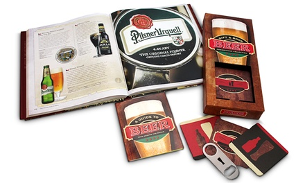 Beer Books and Bottle Opener Set (3-Piece)
