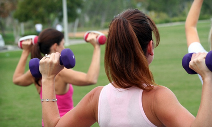 Code Pink Boot Camp - Forest Highlands: $49 for Month of Boot-Camp Classes at Code Pink Boot Camp ($179 Value)