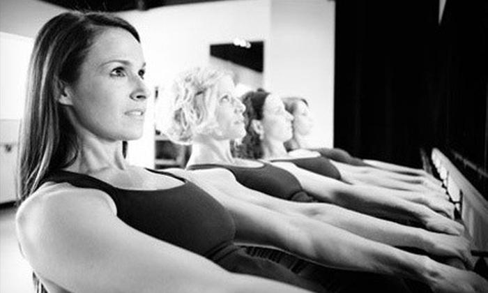 Serenite' Fitness Featuring BarreAmped - Serenite Fitness: $35 for Five BarreAmped Classes at Serenite' Fitness Featuring BarreAmped ($80 Value)