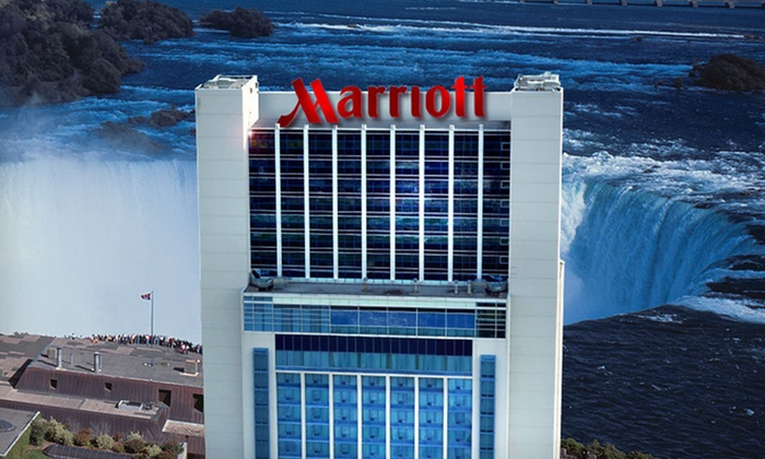 Marriott Gateway on the Falls - Niagara Falls, ON: One or Two Nights with Dining Credit and Wine-Tour Passes at Marriott Gateway on the Falls in Niagara Falls, ON