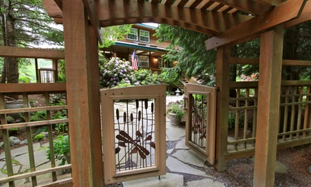 groupon daily deal - 2-Night Stay for Two with Wine at Otters Pond Bed and Breakfast on Orcas Island, WA. Combine Up to 4 Nights.
