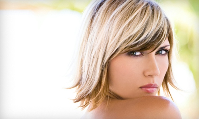 Donaylle Nicole Hair Studio - Donaylle Nicole Hair Studio: Cut, Protective Treatment, and Color or Highlights, or Anti-Aging Facial at Donaylle Nicole Hair Studio (Up to 52% Off)