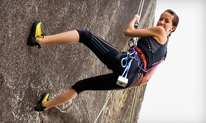 Sierra Rock Climbing School - Mammoth Lakes: Private Mammoth Lakes Rock-Climbing Tour for Two or Four from Sierra Rock Climbing School (55% Off)