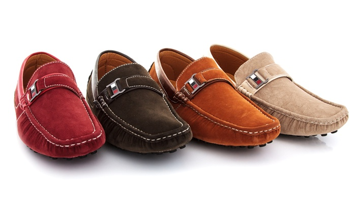 Franco Vanucci Men's Casual Driving Moccasins: $34.99 for Franco Vanucci Men's Casual Driving Moccasins ($100 List Price). Multiple Colors. Free Shipping and Returns.